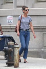 Katie Holmes Out in New York City