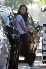 Mila Kunis At the Black Market Liquor Bar in Studio City
