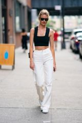 Martha Hunt Out in NYC