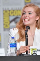 Kennedy McCann At Nancy Drew Panel at 2019 Comic Con in San Diego