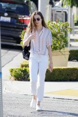 Lily Collins Out in Beverly Hills
