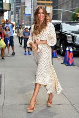 Sofia Vergara Arrived at 'The Late Show' in New York City