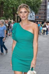 Ashley James At M&M's Block launch party in London