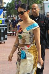 Rosa Salazar Arrives at Comic-Con 2019 in San Diego