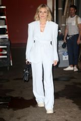 Diane Kurger At 'Live with Kelly & Ryan' in New York City