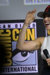 Scarlett Johansson At Marvel Panel at Comic Con San Diego