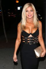 Donna D'Errico At Delilah in West Hollywood