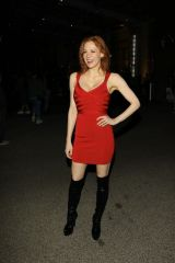 Maitland Ward Outside the 2019 San Diego Comic-Con in San Diego
