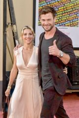 "Elsa Pataky & Chris Hemsworth At Sony Pictures' ""Once Upon A Time...In Hollywood"" Los Angeles Premiere"