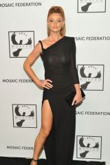 Cintia Dicker At Mosaic Federation Gala Against Human Slavery in New York
