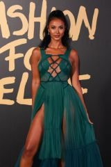 Maya Jama At Fashion For Relief London 2019