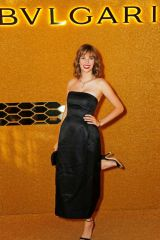 Maya Hawke At Bvlgari Serpenti Seduttori Launch in London