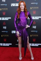 Chloe Dykstra At 45th Annual Saturn Awards, Los Angeles