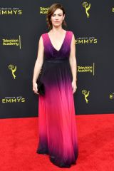 Maggie Siff At 71st Annual Primetime Creative Arts Emmy Awards, Day 1, Microsoft Theater, Los Angeles