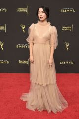 Maya Erskine At 71st Annual Primetime Creative Arts Emmy Awards, Day 2, Arrivals, Microsoft Theater, Los Angeles