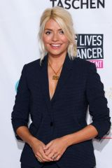 Holly Willoughby At A Very British Affair Auction, Claridge's Hotel, London