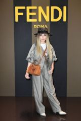 Sabrina Carpenter At Fendi Women's Spring/Summer 2020 Fashion Show in Milan, Italy