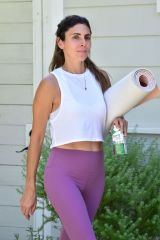 Jamie-Lynn Sigler Spotted with Abbott`s Ensure Plant-Based Protein Shake After a Workout, Los Angeles