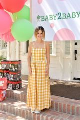 Rachel Bilson At Kelly Rowland 9th Annual Baby2Baby and Huggies Celebration in LA