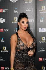 Grace Teal Attends the Ultimate Boxxer 5 at Indigo at The O2 in London,