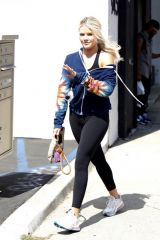 Witney Carson Out at DWTS rehearsals studios in Los Angeles