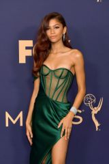 Zendaya At 71st Annual Emmy Awards in LA