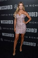 Sophia Pierson Attends Sofia Richie x Missguided Launch at Bootsy Bellows