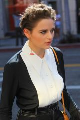 Joey King Leaves Tory Burch's Emmy Party in Beverly Hills