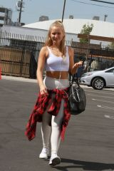 Sailor Brinkley-Cook Arriving for dance practice in LA