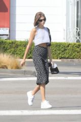 Kaia Gerber Shopping in Malibu
