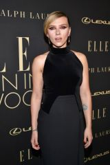 Scarlett Johansson At Elle's 26th Annual Women In Hollywood Celebration in Beverly Hills