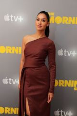 Janina Gavankar At Apple's press day for 'The Morning Show', Los Angeles
