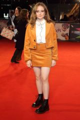 Ruby Stokes At 'Rocks' film premiere, BFI London Film Festival, UK