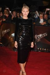 Emma Willis At The Voice UK Blind Auditions at Studio's Media City UK in Manchester