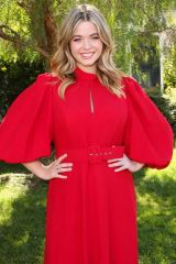 "Sasha Pieterse Visits Hallmark Channel's ""Home & Family"" at Universal Studios Hollywood"