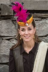 Kate Middleton Visits a settlement of the Kalash people in Chitral, Pakistan