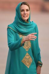 Catherine, Duchess of Cambridge Visits Badshahi Mosque in Lahore, Pakistan