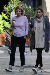 Kaye Adams & Stacey Solomon At ITV Studios in London