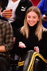 Sydney Sweeney At the Knicks/Pelicans game at MSG in NYC
