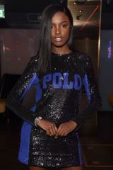 Leomie Anderson At Rollacoaster Magazine's Autumn/Winter 2019 Issue Launch in London