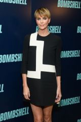 Charlize Theron At ''Bombshell'' New York Screening in New York City