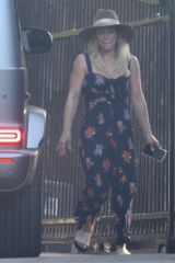 Hilary Duff Steps out for a late lunch date with fiancee Matthew Koma in Studio City