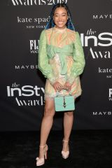 Amandla Stenberg At Fifth Annual InStyle Awards at The Getty Center in Los Angeles