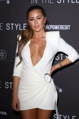 Georgia Steel Attends the In The Style, The Power Edit, launch party at Libertine, London