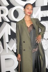 Zoe Saldana At Grand Opening of Nordstrom in New York