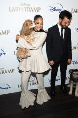 Tessa Thompson At Cinema Society hosts a special screening of Disney+'s 'Lady And The Tramp' at iPic Theater in New York City