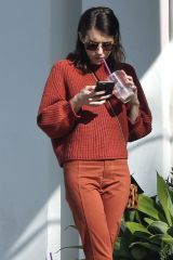 Emma Roberts Seen at the Ralph Lauren store in Beverly Hills