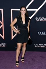 Aly Raisman At Charlie's Angels Premiere in LA