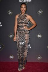 Kelly Rowland At 45th Annual People's Choice Awards, Arrivals, Barker Hanger, Los Angeles