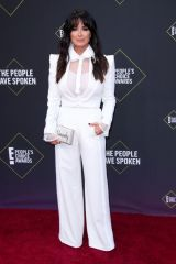 Kyle Richards At 45th Annual People's Choice Awards, Arrivals, Barker Hanger, Los Angeles